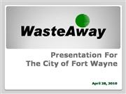 Waste-Away Group Fort Wayne Presentation