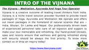 Yoga and Meditation Tourism, Yoga and Meditation Centers | The Vijnana
