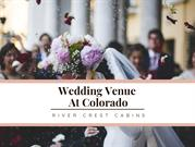 Colorado wedding venue at River crest