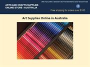 Art Supplies Online in Australia