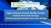 Social Network Software - Open Source Social Media Script - Social Net
