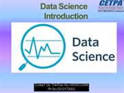 Data Science Training in Noida