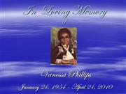 Vanessa Phillips memory