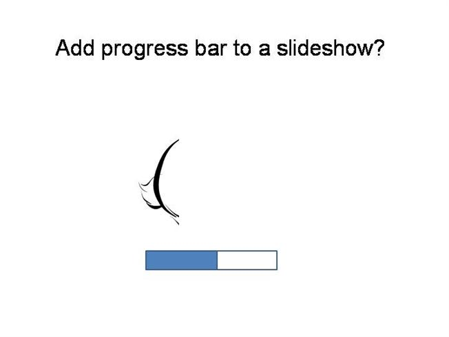 How to add progress bar in a powerpoint authorstream ccuart Choice Image