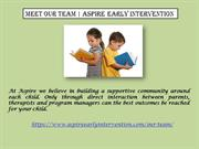 Meet Our Team  Aspire Early Intervention