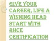 Get Hold of Your Career with RHCE Certification