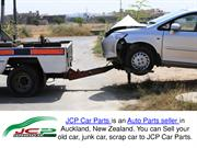 JCP Car Parts - What To Do With Your Old Junk Car?