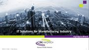 IT Solutions for Manufacturing Industry