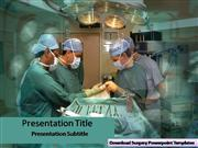 Surgery PPT Templates