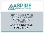 Branding and  Web Design Company Advertising Agency Aspire Digital So