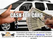 Queensland Car Parts - Getting Cash For Your Junk Cars