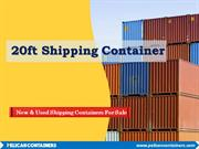 20ft Shipping Container - Pelican Containers