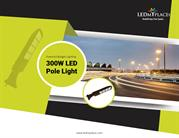 Powerful budget lighting with 300W LED Pole Light