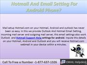 How To Setup Hotmail Email Setup For Setting