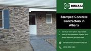 Stamped Concrete Contractors in Albany