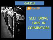 Self drive cars in coimbatore | Self driving cars in coimbatore-cars2u