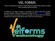 WORLD'S BEST PAYMENT TERMINALS AT VELFORMS