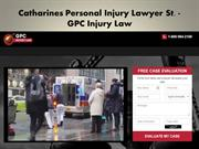 Personal Injury Lawyer St. Catharines ON