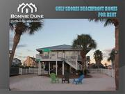 Gulf shores beachfront homes for rent