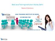 Best Java Training Institute in Noida, Delhi