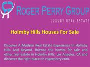 Holmby Hills Houses For Sale - Roger Perry