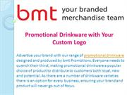 Promotional Drinkware with Your Custom Logo