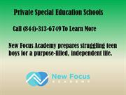 Private Special Education Schools By New Focus Academy