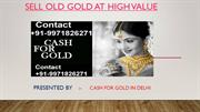 Sell Gold | Gold Buyer | Cash For Gold