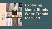 Exploring Men's Ethnic Wear Trends for 2019-converted