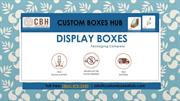 Custom Display boxes, Display Boxes Wholesale - Custom Boxes Hub