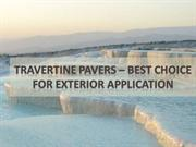 Travertine Pavers – Benefits of Travertine Stones for Outdoors Uses