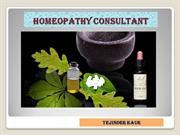 Homeopathic Consultant in Singapore