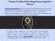 HOME INSPECTION SERVICES IN SAN DIEGO