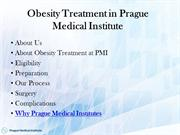Obesity treatment Prague | Weight Loss Treatment Abroad