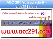 ACC 291 You can do it--acc291.com