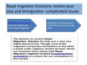 Royal Migration Complaints, Royal Migration Scam, Royal Migration Nega