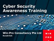 Cyber Security Awareness Training by Win-Pro