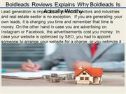 Boldleads Reviews Explains Why Boldleads Is Actually Worthy
