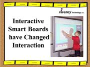 Interactive Smart Boards have Changed Interaction