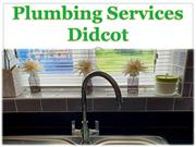 Plumbing Services Didcot