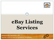 How eBay Listing Services Can Improve Your Sales