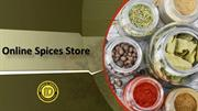 Buy Spices, Online Spice Store,Order Spices Online, Buy online Spices
