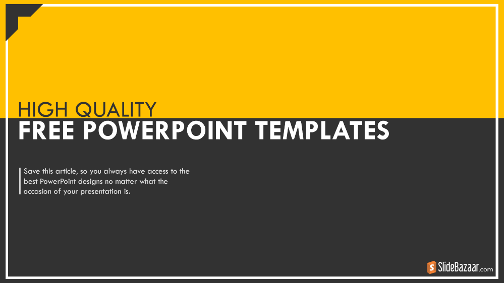 High Quality Free Powerpoint Templates Authorstream