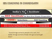 IBS COACHING IN CHANDIGARH