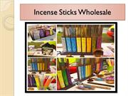 Incense Sticks Wholesale