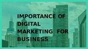 Importance Of Digital Marketing For Business