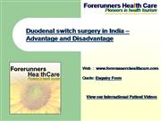Duodenal switch surgery in India – Advan
