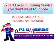 Expert Local Plumbing Service you don't want to ignore