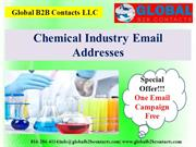 Chemical Industry Email Addresses