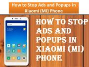 How to Stop Ads and Popups in Xiaomi (MI) Phone